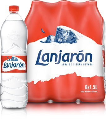Pack Botellas Lanjarón 1,5L